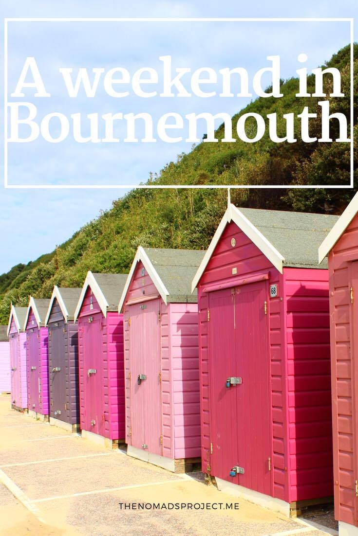 Bournemouth beach boxes